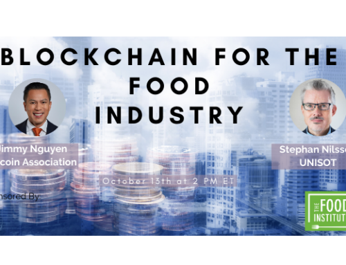 Webinar: Blockchain For the Food Industry